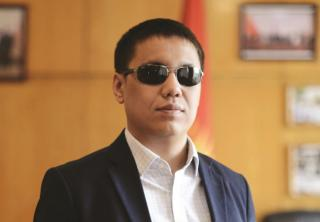 Dastan Bekeshev, Member of Parliament, Kyrgyzstan