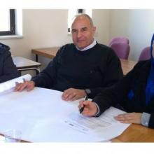 Delegates discuss open access at an EIFL workshop in Palestine in December 2015.