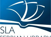logo of the serbian library association