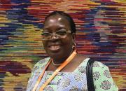 Dr Cécile Coulibaly, portrait.