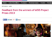 WSIS Project Prizes 2013