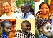 The IYALI 2018 scholarship winners: Top row, from left, Mostafa Tuhami (Egypt), Koi Kazungu (Kenya), Letshani Ndlovu (Zimbabwe). Bottom row, from left, Harouna Ahmadou Saliou Yerima (Cameroon), Momoh Mansaray (Sierra Leone) and Joan Njogu (Kenya).