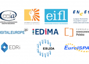 Logos of some of the groups that signed the letter to the European Commission.