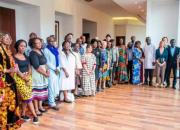 Librarians and representatives of RENs at the workshop in Ghana in March 2019.