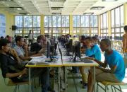 Students at Addis Ababa University Library