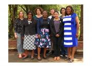 A group of women trainers who took part in the EIFL open science train-the-trainers workshop in Ethiopia in June 2017.