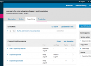 Screenshot, OJS 3 Website
