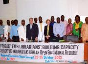Participants in a COBESS copyright seminar