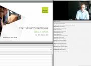 Screengrab of TU Darmstadt webinar presentation