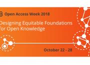 Logo for OA week 2018