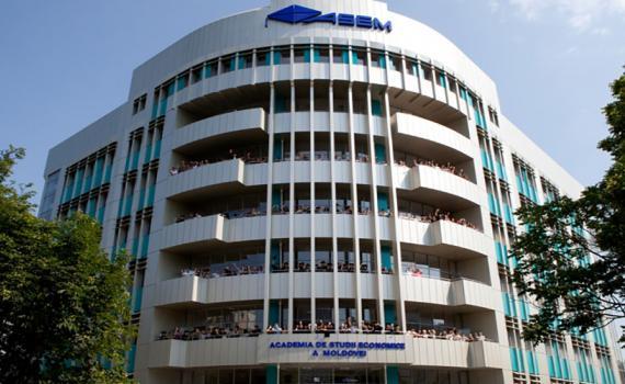 Academy of Economic Studies of Moldova building
