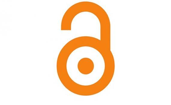 open access logo - orange