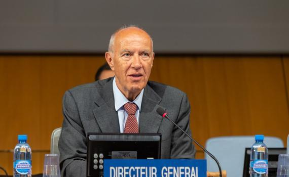 WIPO Director General, Mr Francis Gurry. Copyright: WIPO. Photo: Emmanuel Berrod.