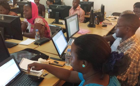 Bagamoyo workshop participants get to grips with ICT
